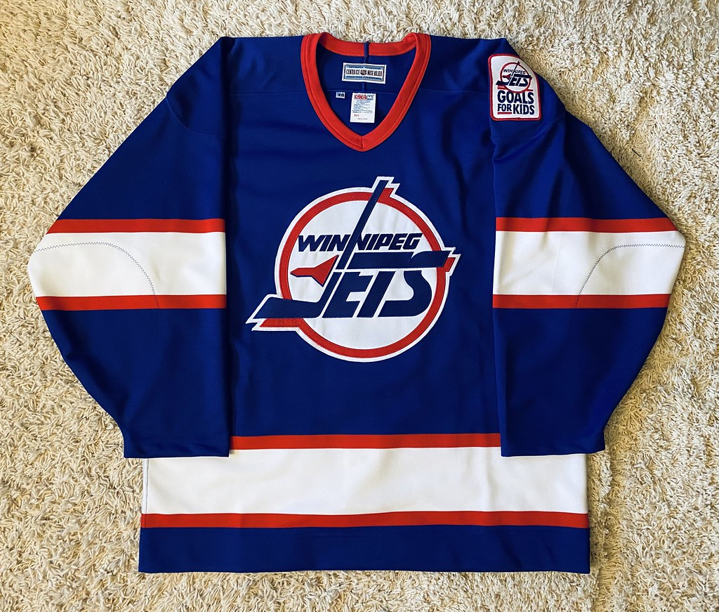 1991-96 Winnipeg Jets road