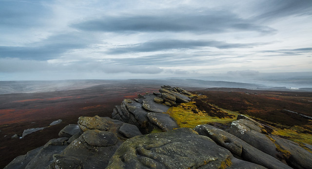 Back Tor View