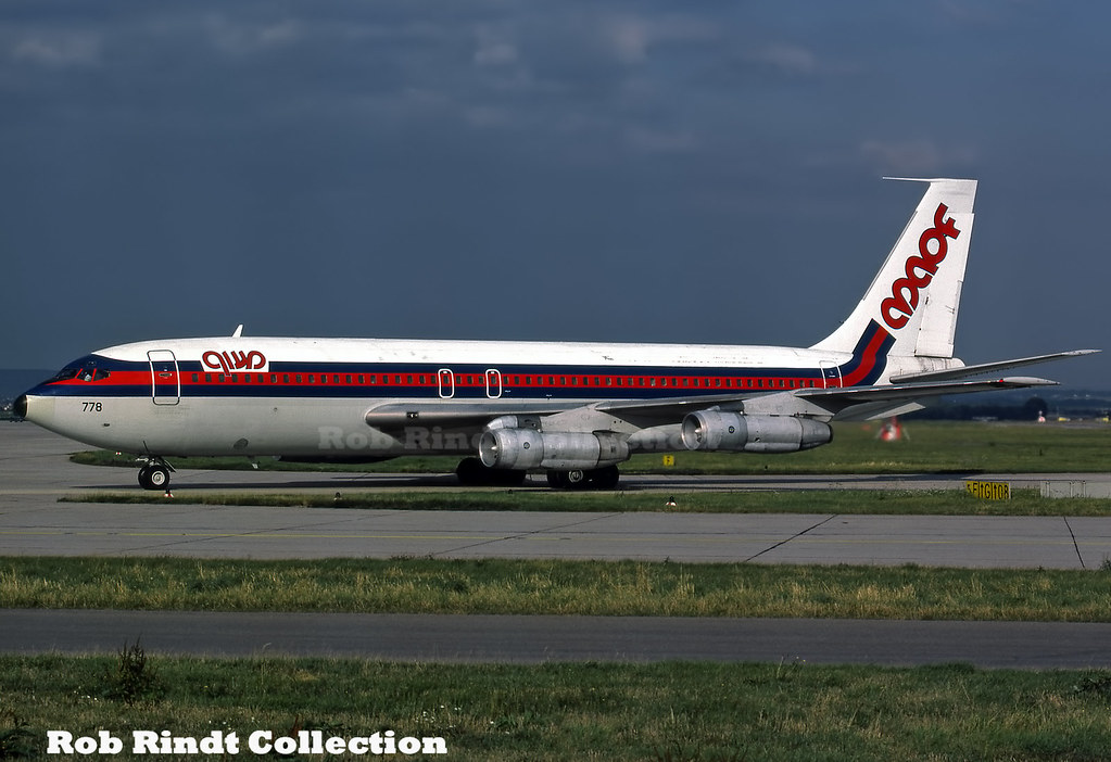 Maof Airlines B707-139 N778PA