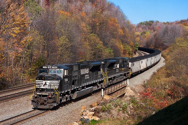 NS 7204 at Cassandra, Pennsylvania