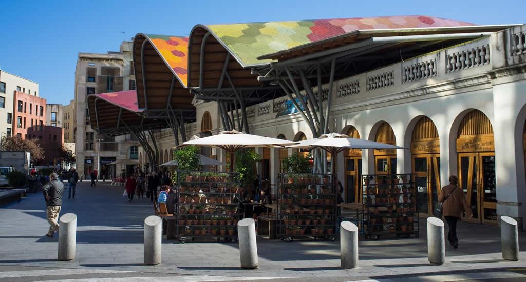Bezienswaardigheden Barcelona: Mercat de Santa Catarina | Mooistestedentrips.nl
