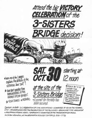 Call for 3-Sisters Bridge celebration: 1971