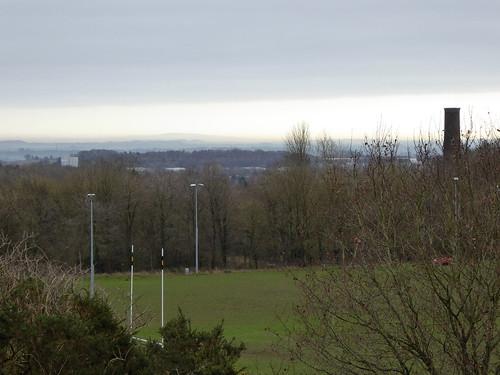 The Shropshire Hills Shrouded in Mist