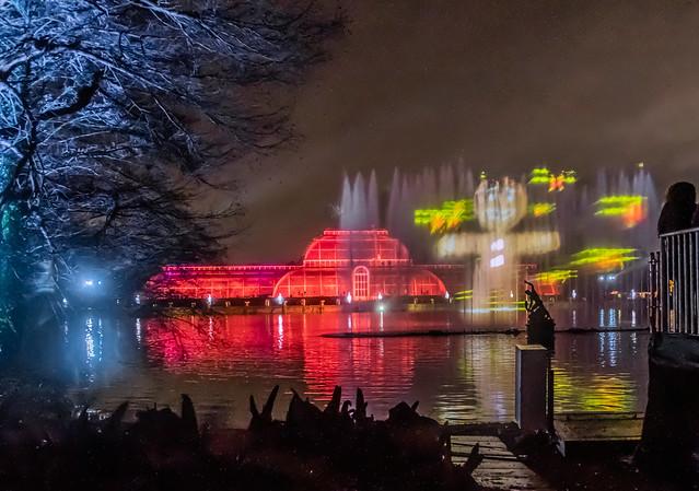 Kew Gardens Light Festival