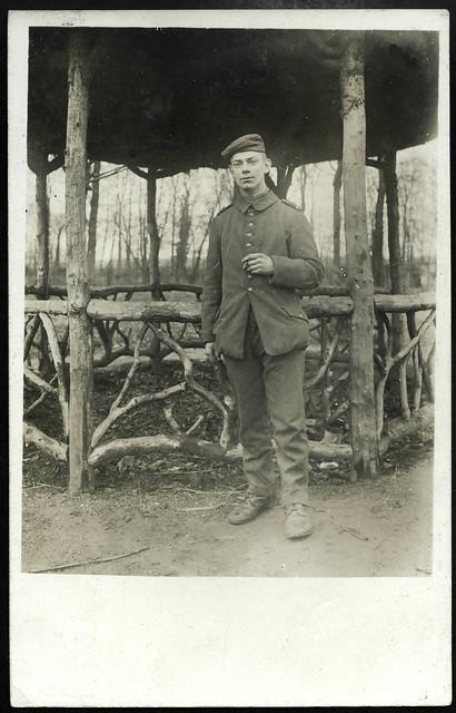ArchivV71 Soldat (front), WWI, Grüße vom 7. Januar 1917