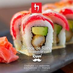 Ahora puedes disfrutar lo mejor de la comida nikkei en cualquier lugar que estes, encuéntranos en la app de Rappi y pide tu delivery de Hanzo #Delivery #CocinaNikkei #rappi #quito #peruvian #sushi #sushiquito #restaurante #japanese #cousine #penthousequit