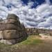 Sacsayhuamán's gigantic walls by marko.erman