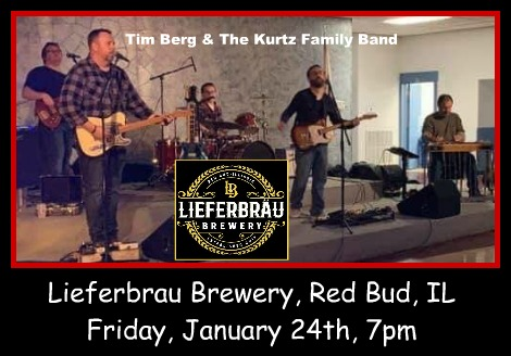 Tim Berg & The Kurtz Family Band 1-24-20