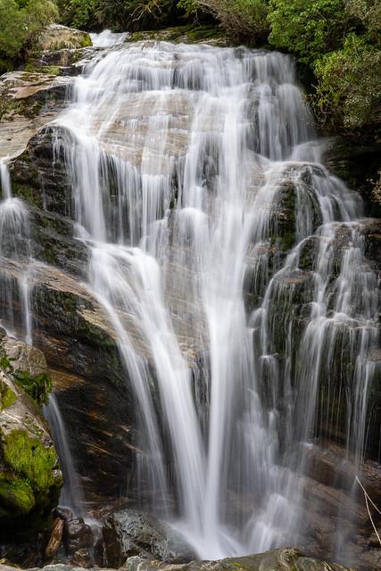 Waterfall, Milford Track, NZ