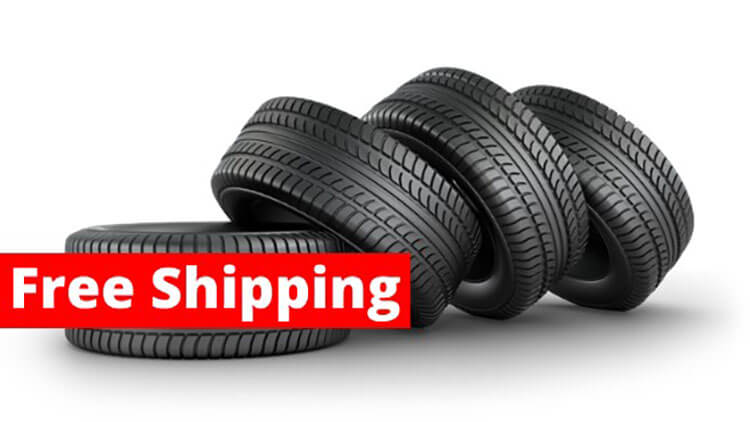 free shipping tyres