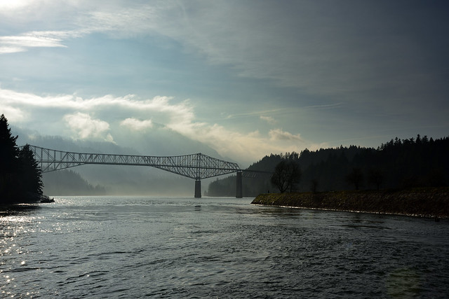 The Bridge of the Gods, Cascade Locks, Oregon