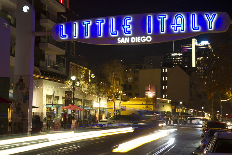 Welcome to Little Italy, San Diego!
