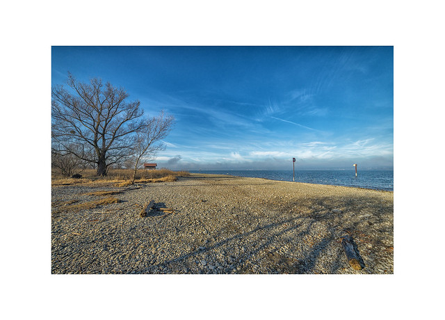 January at the Lake of Constance