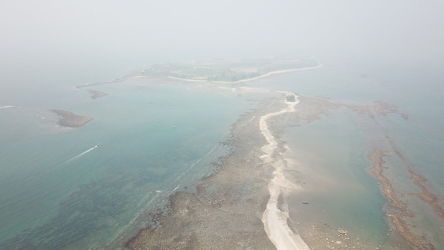 St. Martin Island in the Bay of Bengal