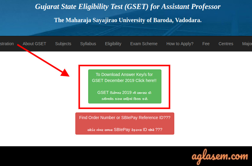 GSET Answer Key GSET Answer Key 2020 - Download Here (gujaratset.in)