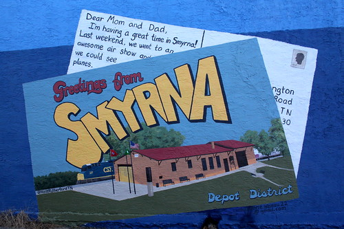 Greetings from Smyrna Depot District