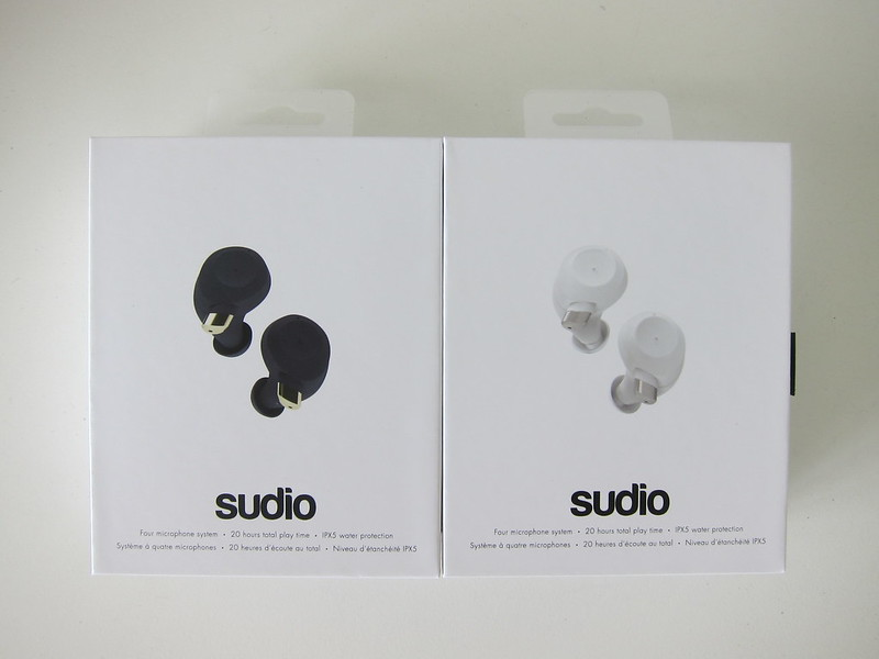 Sudio Fem - Box Front - Blue & White