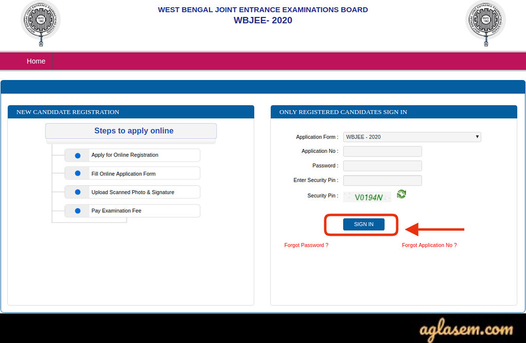 Download WBJEE 2020 Admit Card