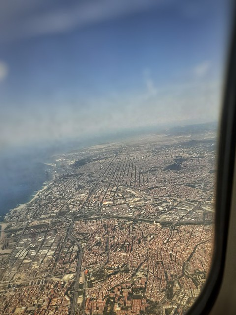Barcelona from above.