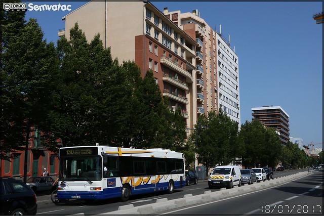 Heuliez Bus GX 317 – CAP Pays Cathare (Transdev) n°73008 / Tisséo n°7314