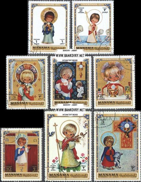 Známky Manama 1971 Vianoce