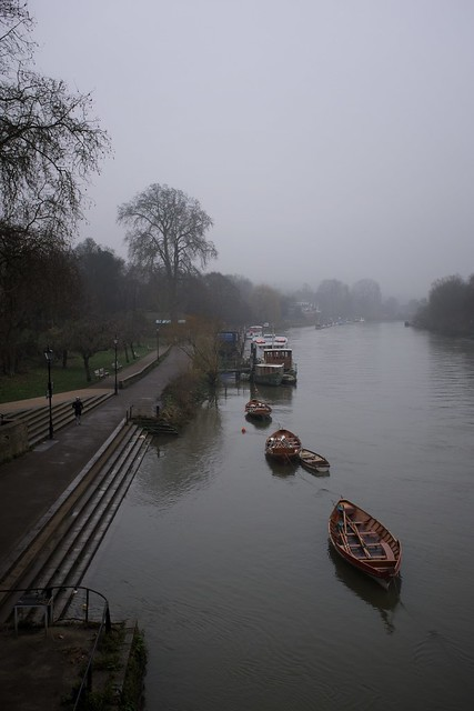 Foggy Thames in Richmond