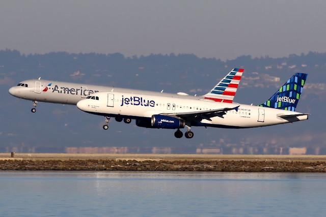 jetBlue Airways   Airbus A320-200   N597JB   San Francisco International