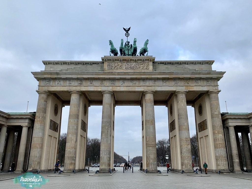 柏林 布蘭登堡門 Brandenburger Tor
