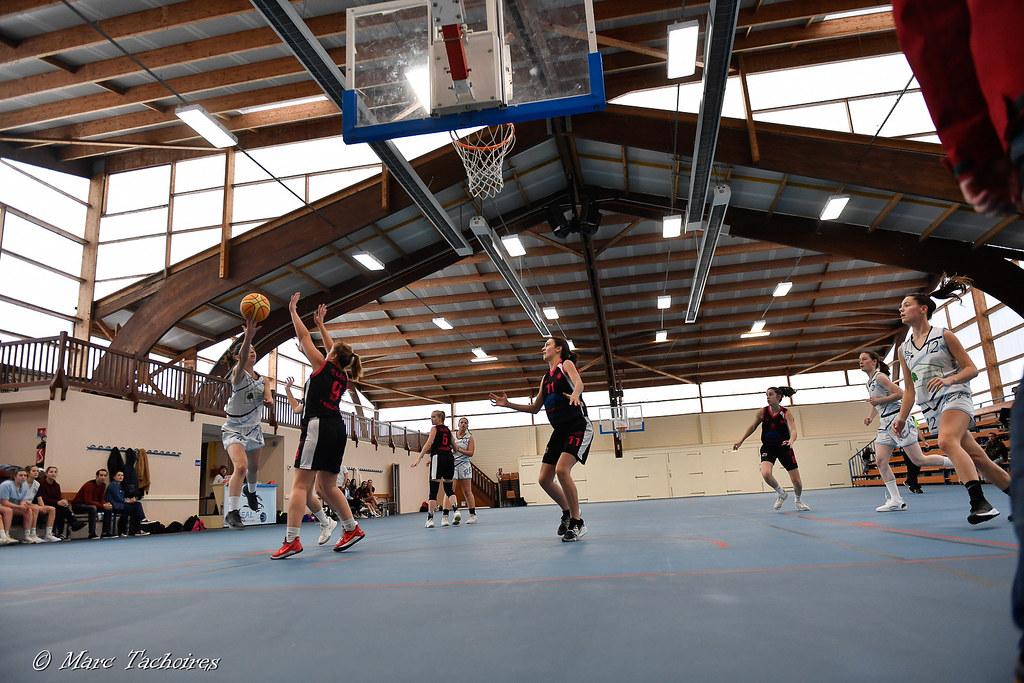 U18F, 16H à Caupenne (vs Langon-Illats) : 61-69