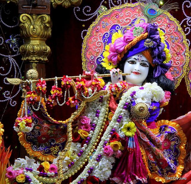 ISKCON Juhu Sringar Deity Darshan on 24th Jan 2020