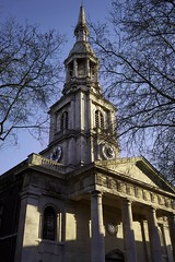 The newly restored Shoreditch Church