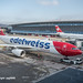 HB-JHQ EDELWEISS AIR AIRBUS A330-343 Aircraft, Zurich Airport, Switzerland