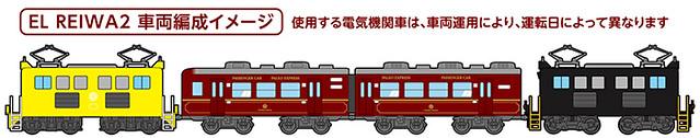 EL REIWA2☆車両編成イメージ