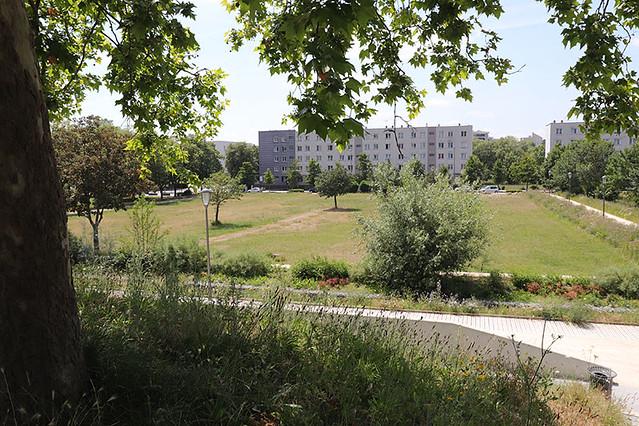 Le Parc Molière aux Mureaux (78) labelisé label HQE (Haute Qualité Environnementale)