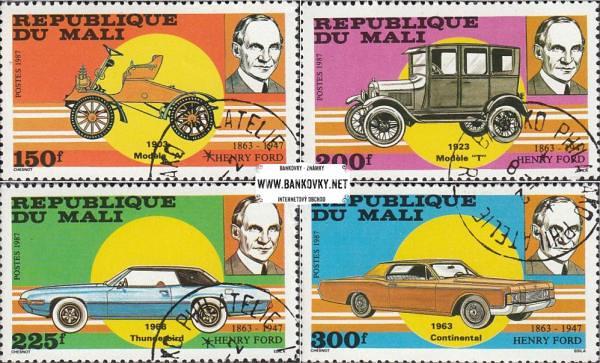 Známky Mali 1987 Henry Ford