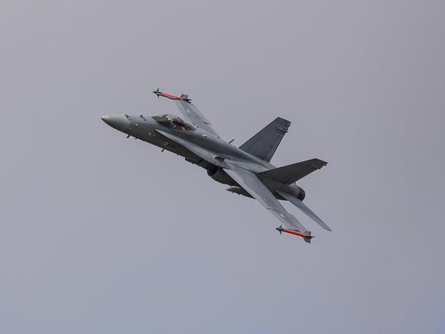 Finnish Air Force F-18C Hornet