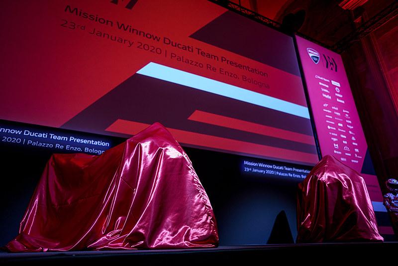 Ducati 2020 teampresentatie
