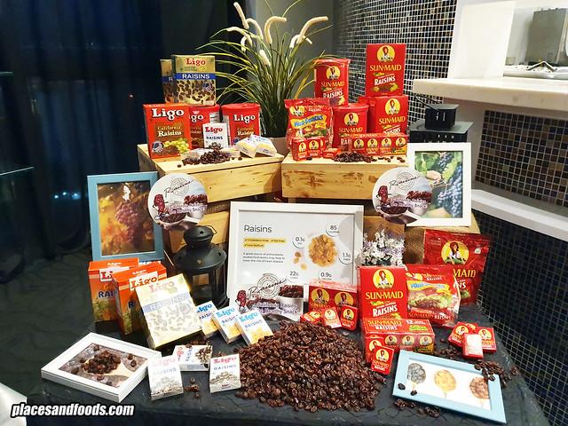 california raisins showcase