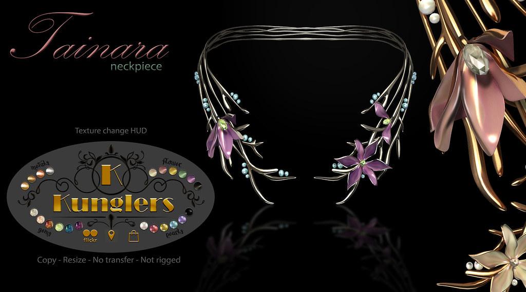 KUNGLERS – Tainara neckpiece vendor