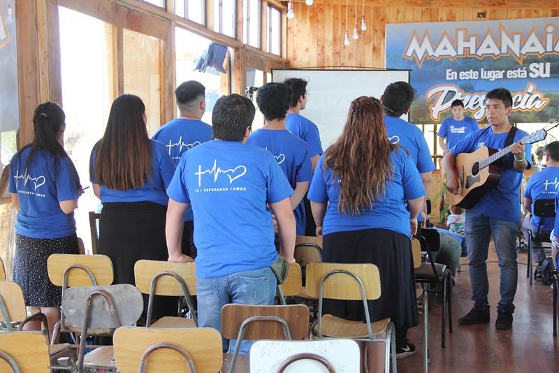 """Servicio especial de juventud en Parral denominado """"Mahanaim 2020"""""""