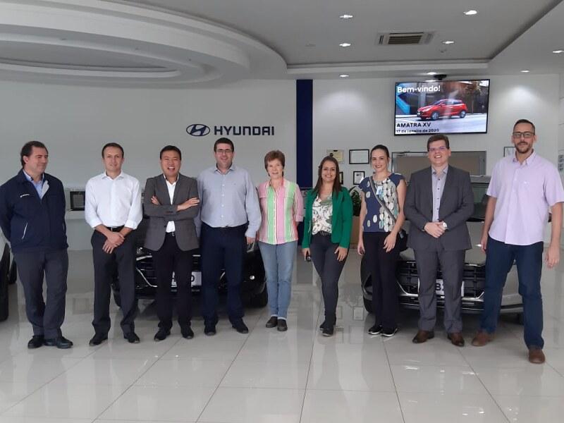 Visita � F�brica da Hyundai em Piracicaba/SP - 17-1-2020
