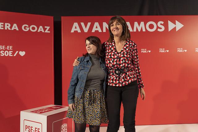 Idoia Mendia y Adriana Lastra inauguran las jornadas Activa Euskadi