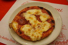 Salamino Piccante pizza @ Pizza al Tegamino @ Alla Baita dei 7 Nani @ Turin