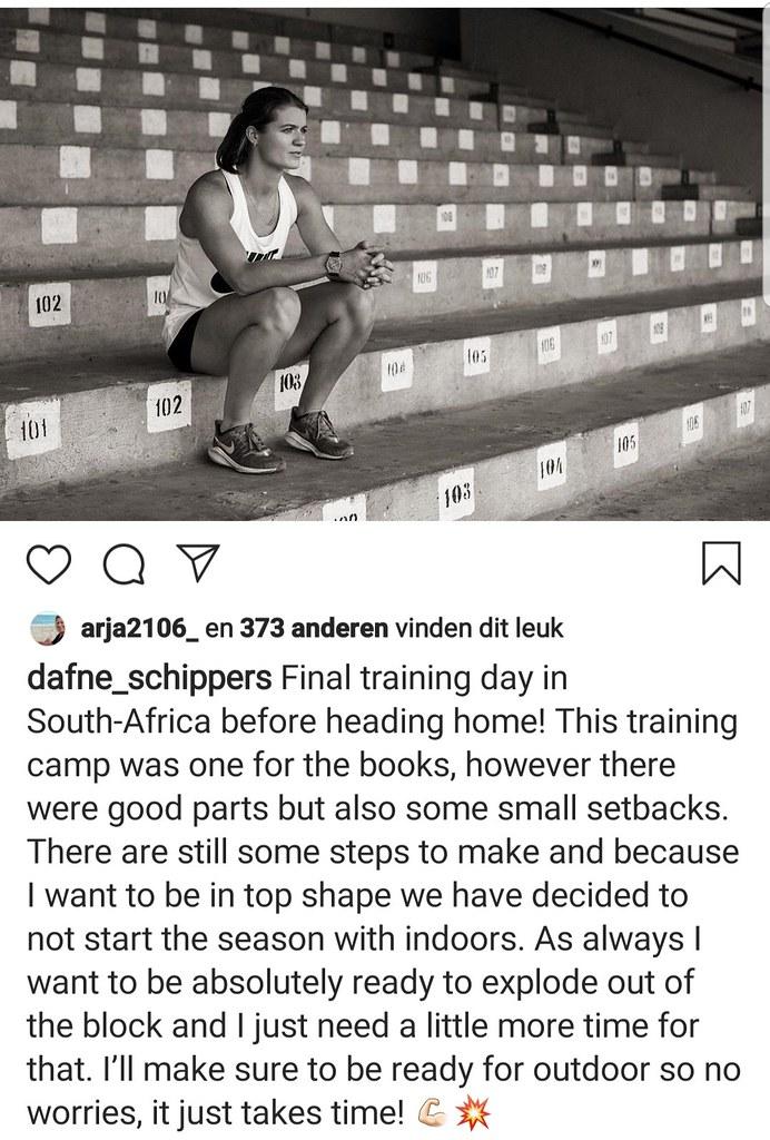 Schippers instagram