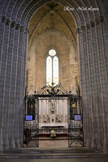 Cathédrale St Fulcran à Lodève Hérault
