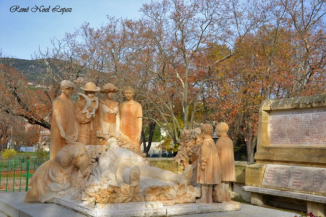 monument aux morts de Lodève Hérault
