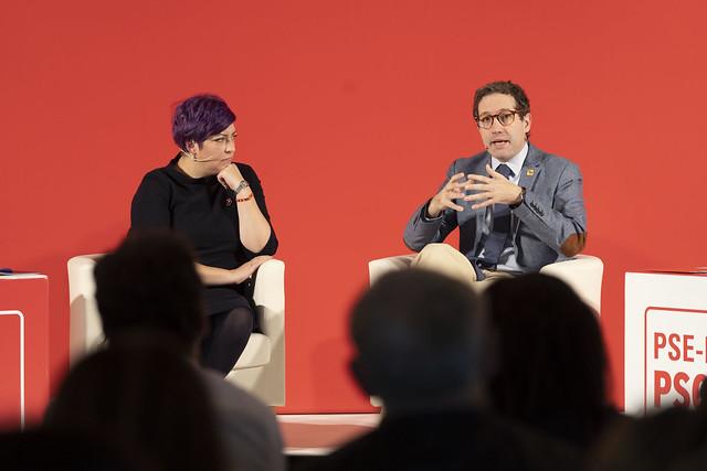 Eider Gardizabal y Domènec Ruiz Devesa Activa Euskadi