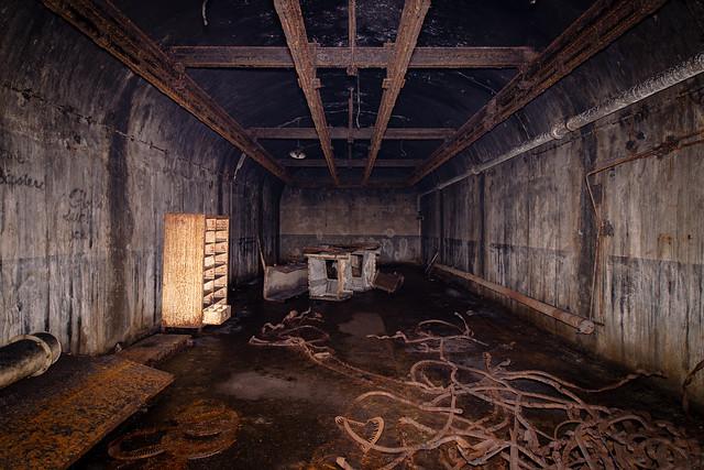 Ammunition room