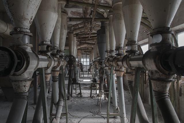 Former Mill. Italy 2014.