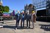 El alcalde visita el escenario del Carnaval 2020